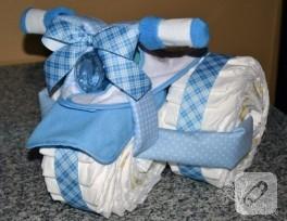 Yeni doğan dekoratif bebek bezi