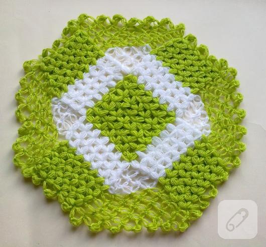 yeşil örgü lif modeli