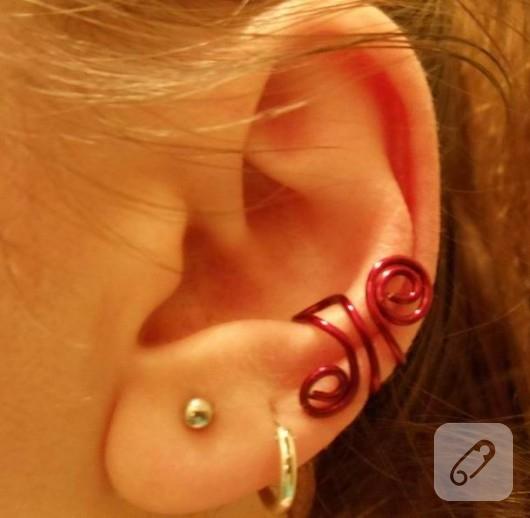 ear cuff yapımı
