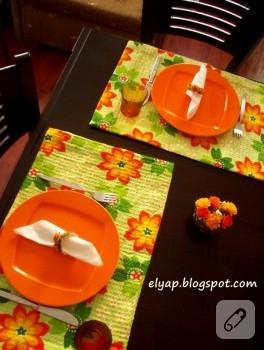 Masalar çiçeklensin (runner)