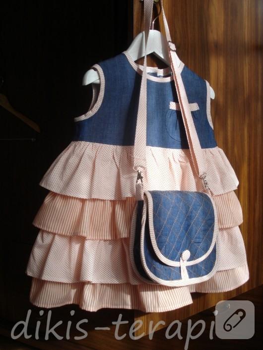 Kapitone çocuk çantası