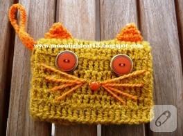 Kedi ve baykuş cüzdanlar