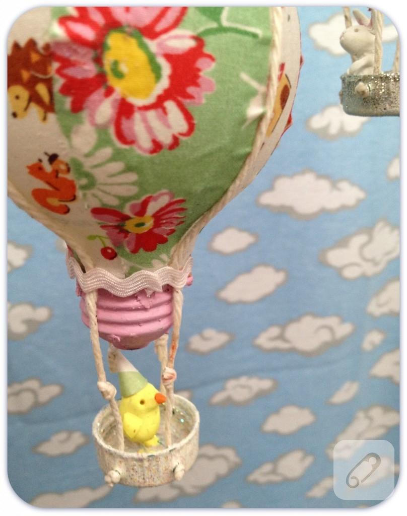 Geri Donusum Ornekleri Ampulden Sicak Hava Balonu Yapimi