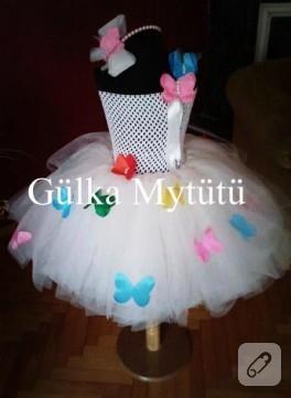 Kelebeklı tütü elbise