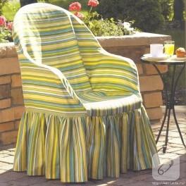 Plastik sandalye giydirme (kılıf dikmek)