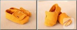 Bebek ayakkabısı yapımı