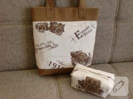 Arabalı yazlık çanta