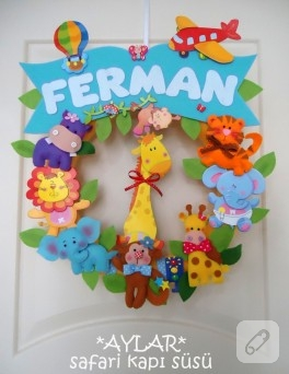 Ferman – safari kapı süsü