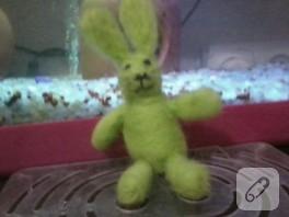 Yeşil tavşan – keçe