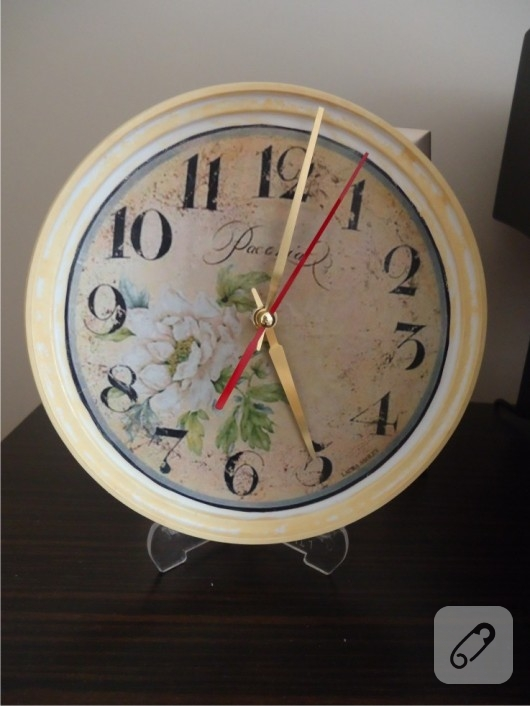 el yapımı saat