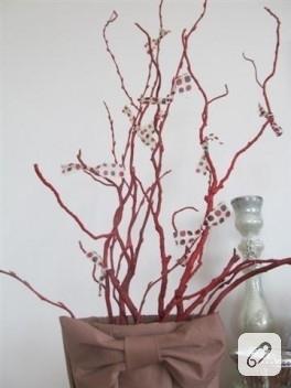 Kuru dallarla dekorasyon