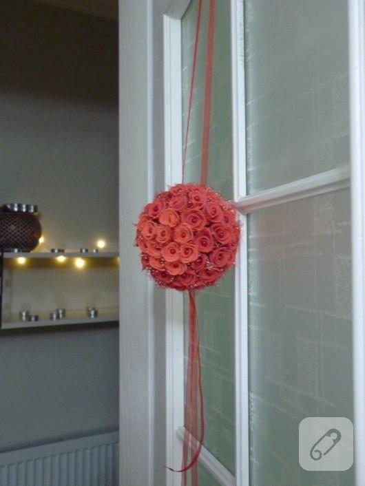 Dekoratif top çiçek