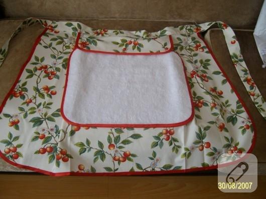 Havlulu mutfak önlüğü