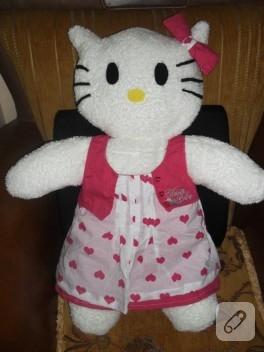 Hello Kitty oyuncak yapımı