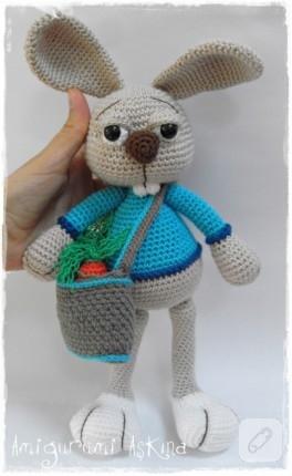 Tavşan Çikko – Amigurumi oyuncak
