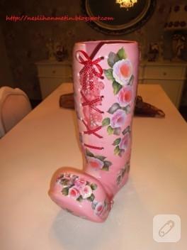 Seramik boyama vazo