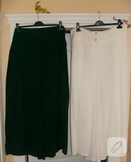 Pantolon etekler