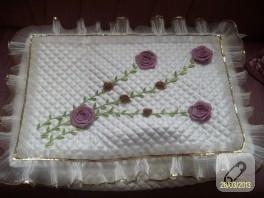Kurdele çiçekli hurç