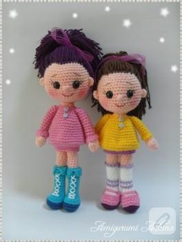 Amigurumi cici kızlarım