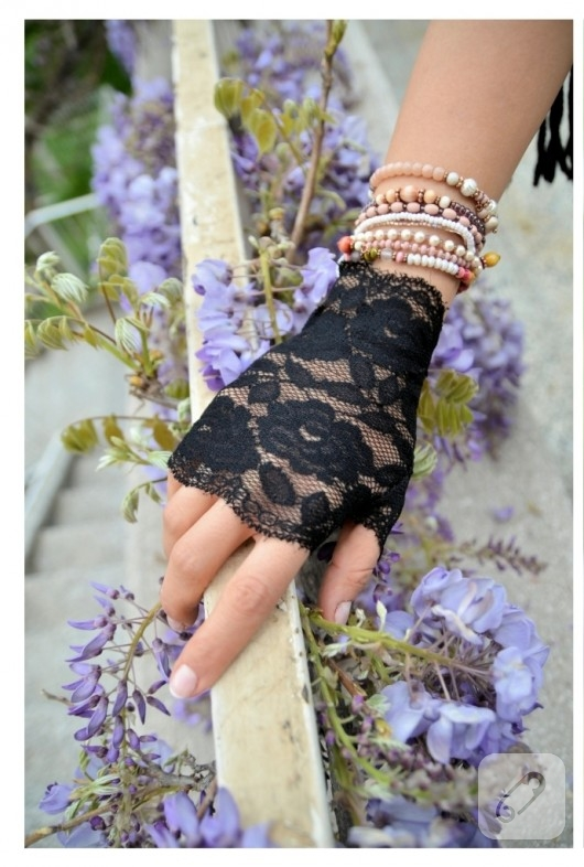 dantel eldiven