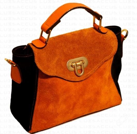 Süed mini el çantası