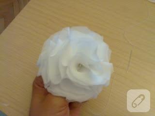 şifon çiçek