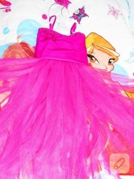Tütü elbise ve taç
