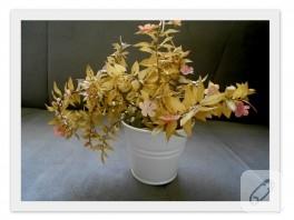 Dekoratif çiçek fikri
