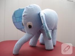Kumaş oyuncak fil