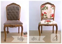 Sandalye kaplama – anlatımlı