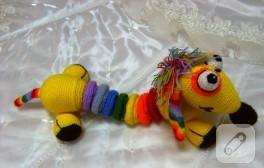 Amigurumi oyuncak – el sanatları kursundan