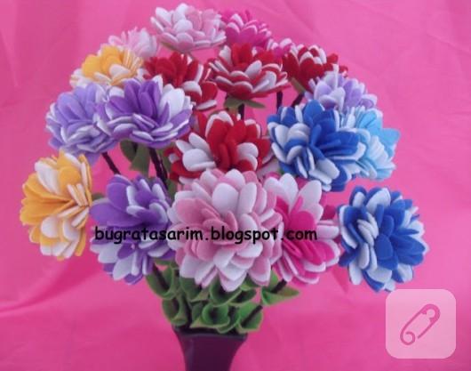 keçe çiçek