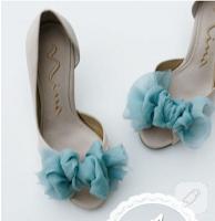 Diy: şifon süslemeli ayakkabı