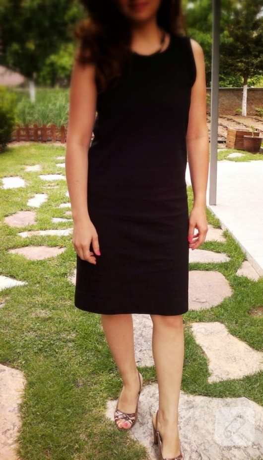 penye elbise