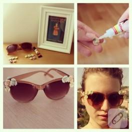 Diy: Dolce&Gabbana güneş gözlüğü