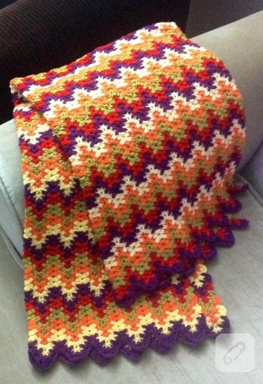 Zigzag battaniye