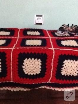 Annemin örgüsü battaniye