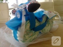 Bebek bezinden motosiklet