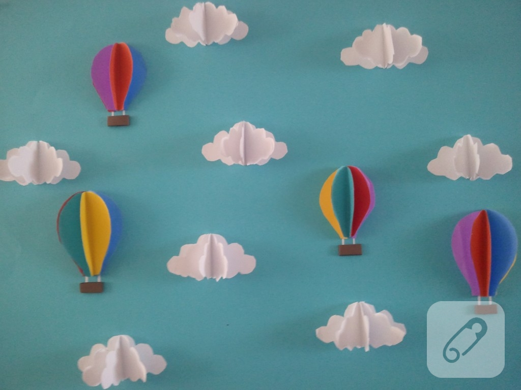 Uçan Balonlar Yelek Modeli