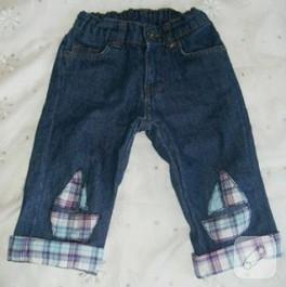 Erkek bebek pantolonları