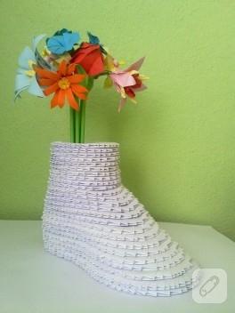 Origami vazo
