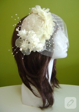 Nikah şapkası, el yapımı