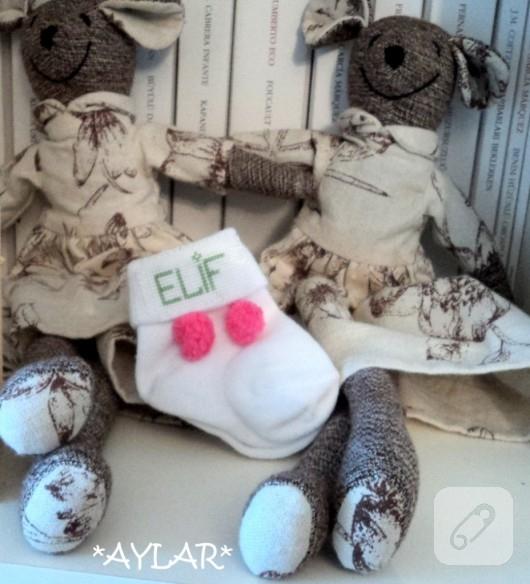 bebek çorabı