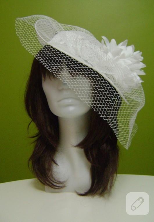 Hasır nikah şapkası