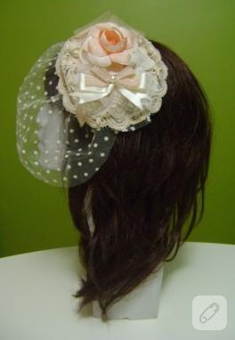 El yapımı nikah şapkası