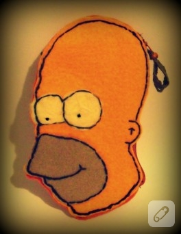 Keçe Homer cüzdan