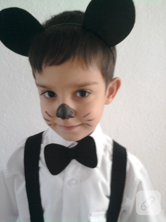 Çocuklar için fare kostümü