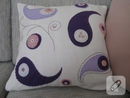 Keçe yastık tasarımım