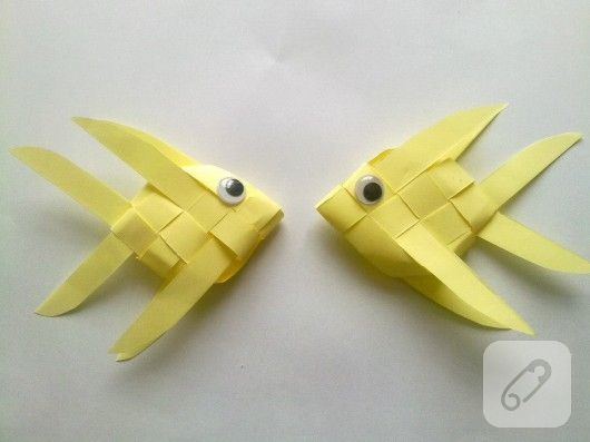 Kağıttan balıklar