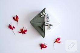 Yeni origami hediye kutuları